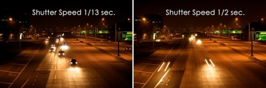 freeway shutter speed photogaraphy