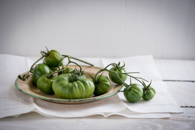 Grilled Green Tomatoes Recipe