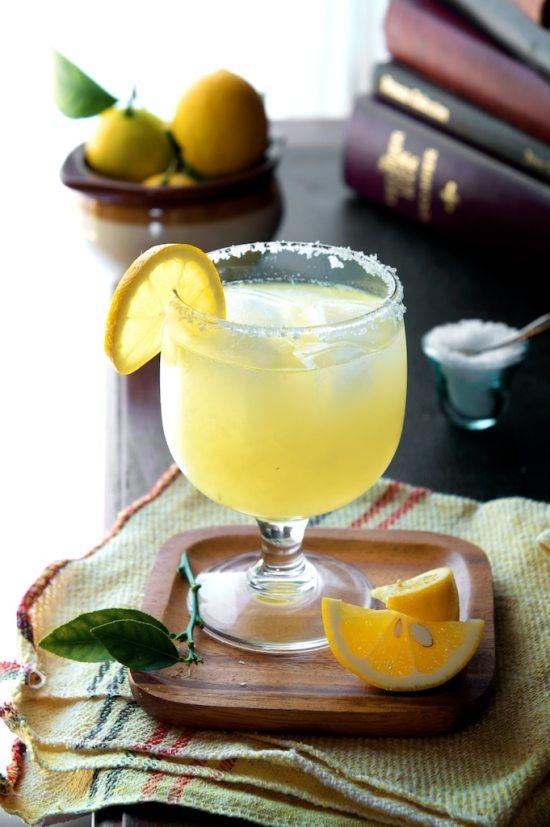 Delicious and Refreshing Meyer Lemon Margarita Recipe on WhiteOnRicecouple.com