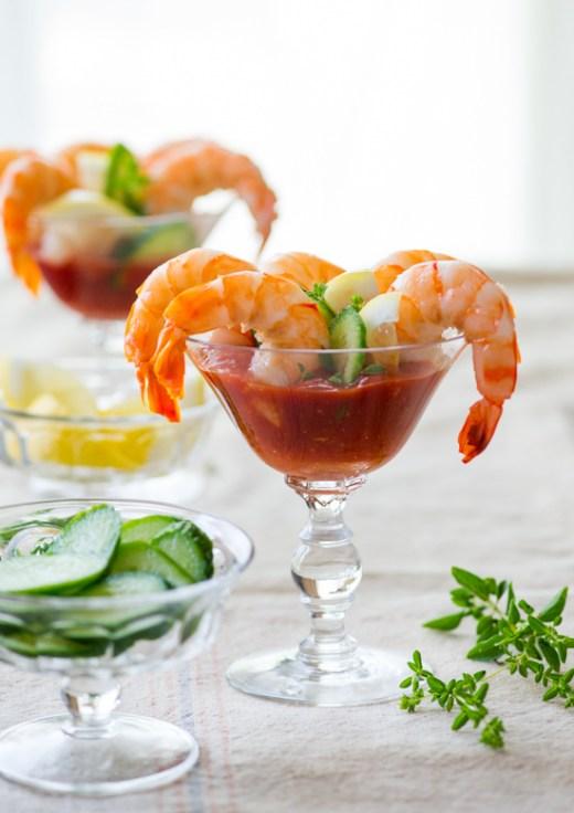 Sriracha Shrimp Cocktail Recipe on WhiteOnRiceCouple.com