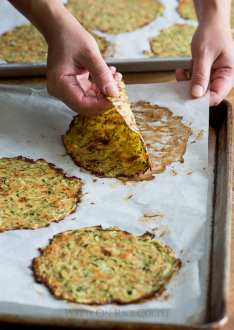 Healthy Zucchini Soft Taco Tortillas made from grated zucchini | @whiteonrice