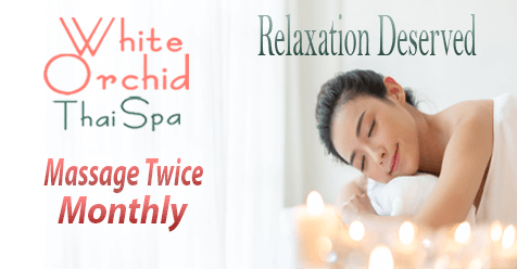 Relaxation Well Deserved | White Orchid Thai Spa