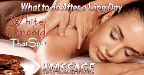 After a Long Day | MASSAGE