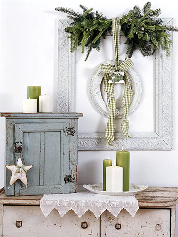 Decorating With Empty Thrift Store Picture Frames