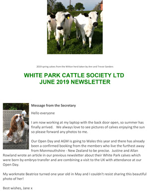 Tribute to Michael Rosenberg CBE - White Park Cattle Society