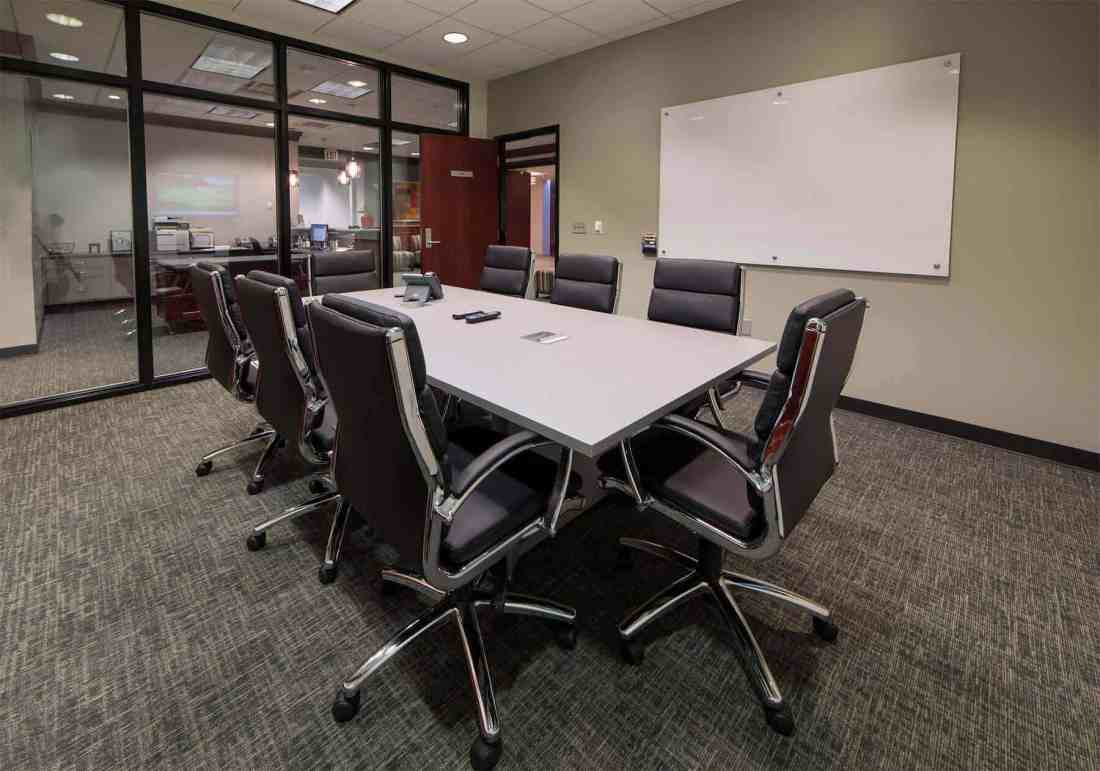 white peak conference room