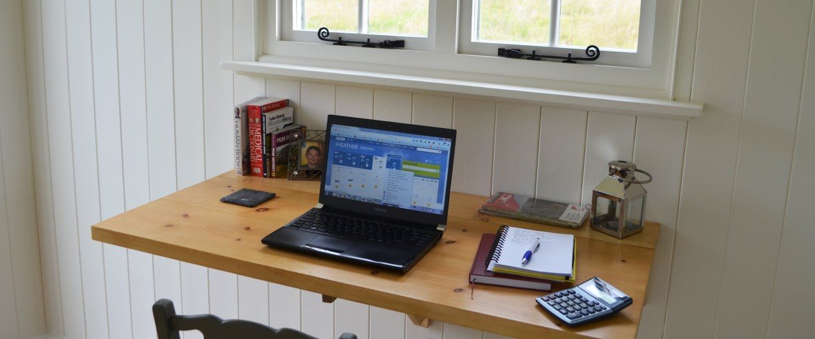 Quite office or work space