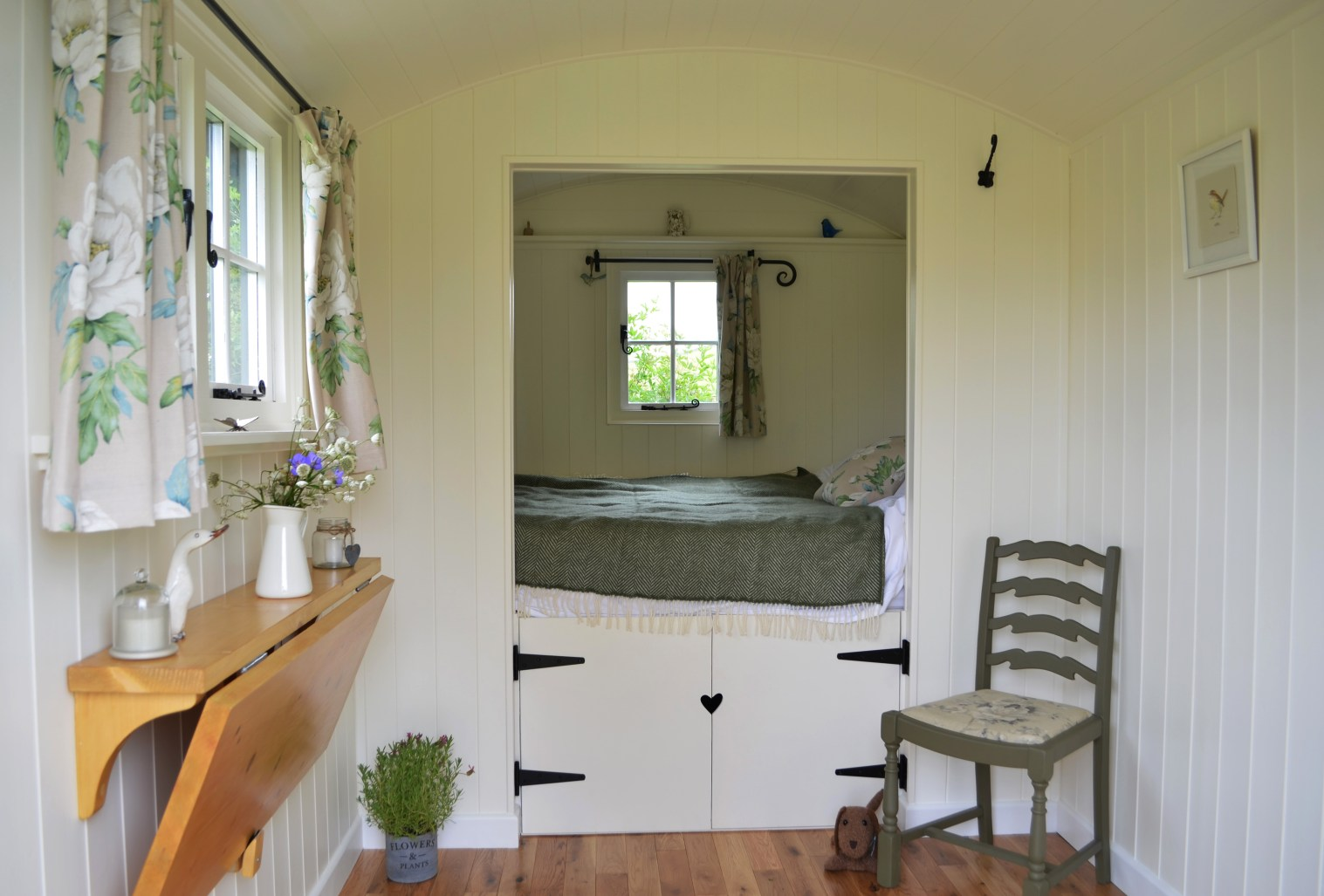 Glamping with White Peak Shepherd Huts