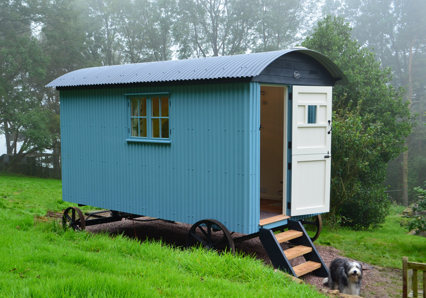 14ft shepherds hut