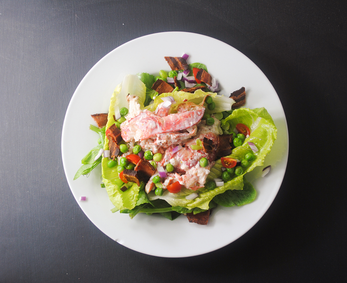 lobster-pea-salad