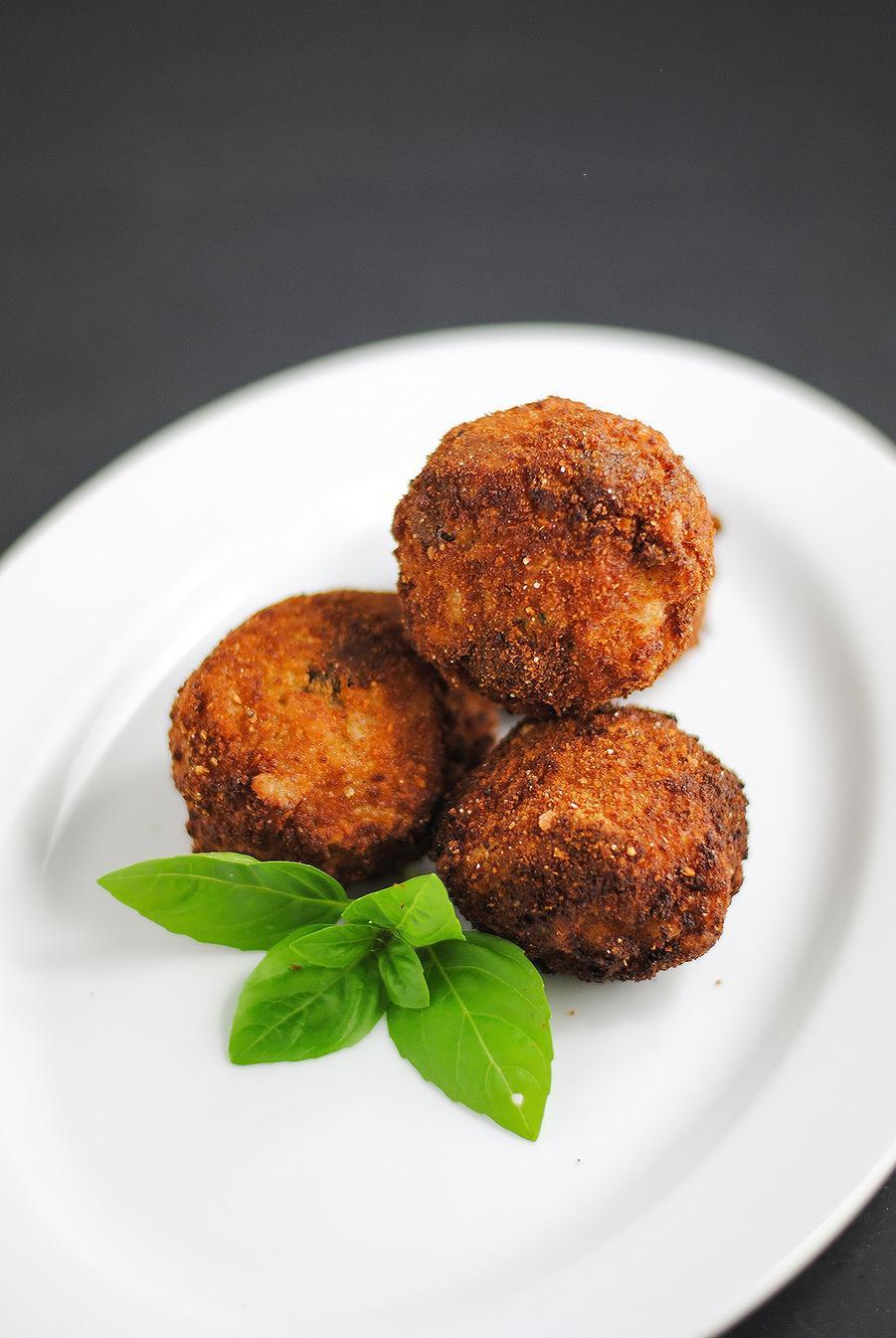 arancini or risotto balls