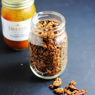 Secret ingredient pecan pumpkin granola