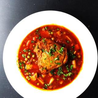 Ecuadorian chicken stew