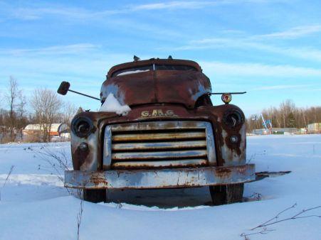The older I get, the longer winter seems! -- Brockville, Ontario