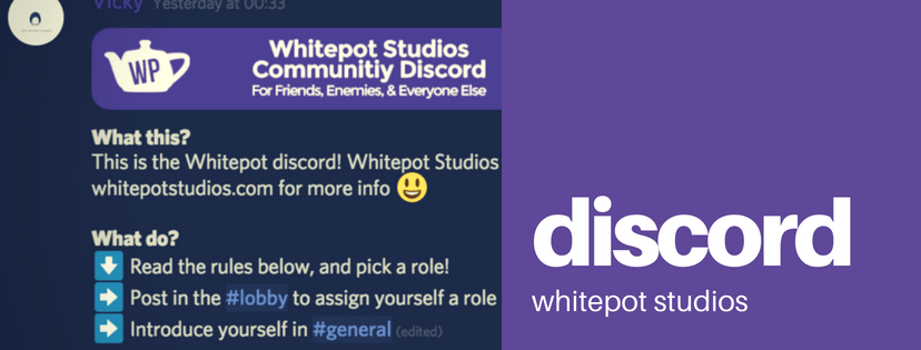 Whitepot Studios Verified Community Discord Server - what is Discord?
