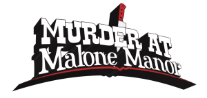 Murder At Malone Manor - Logo