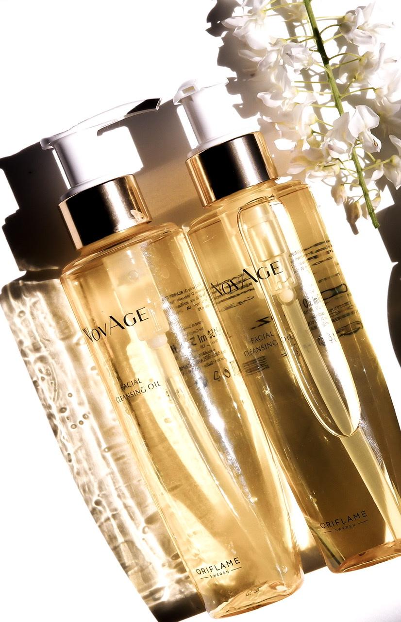 Oczyszczający olejek do twarzy NovAge, Oriflame