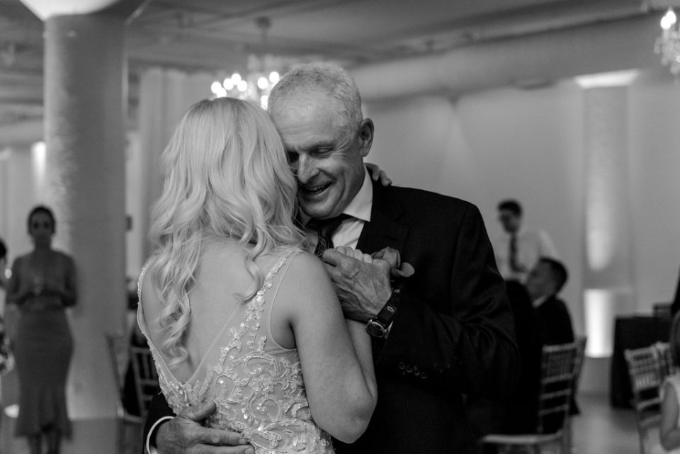 Father-daughter dance at Room 1520