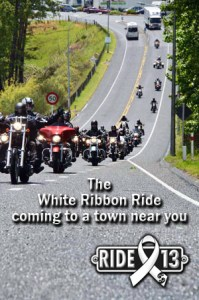 White Ribbon Ride coming to a town near you copy
