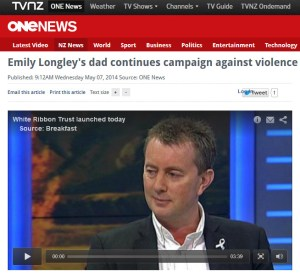One News Mark Longley