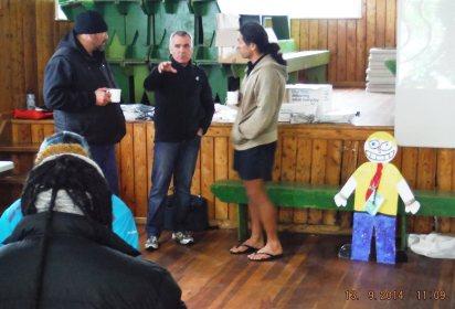 Tauawhi's Winton Ropiha , WR Ambassadors Tim & John McGrath