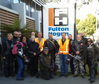 Fulton Hogan Nelson - sponsers of White Ribbon Ride South Island