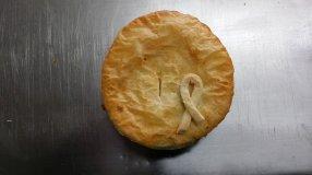 the pie