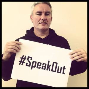 Kelvin Davis is asking us to #speakout against sexual violence