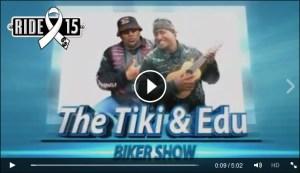 Tiki and Edu graphic