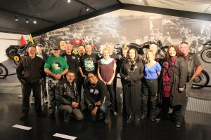 White Ribbon Riders at the Classic Museum