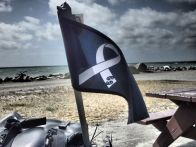 Flying the White Ribbon Flag Hokitika