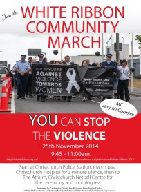 Community March Christchurch