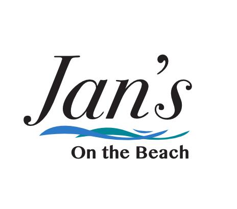 Jan's on the Beach logo