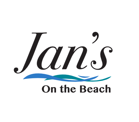 Jan's on the Beach logo