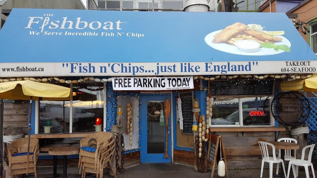 Fishboat exterior