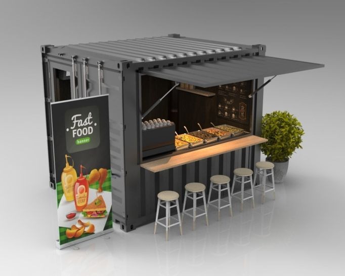 Container House - Food Kiosk