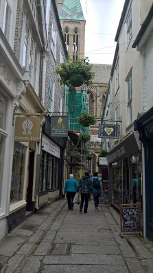 Truro Street and Cathedral