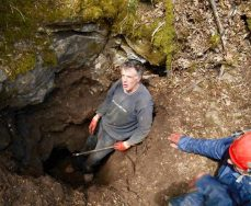 Hucky & Phil at Chapel Lodge Cave
