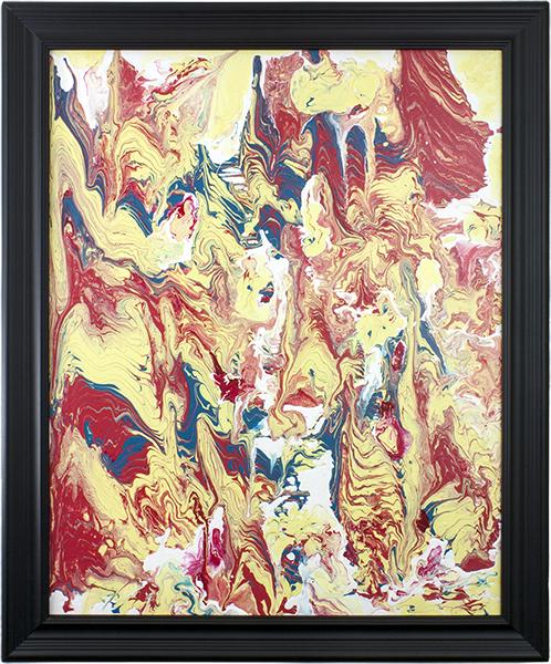 Color Flow by Heather Miller, WhiteRosesArt.com