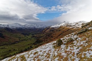 View down Langdale Valley