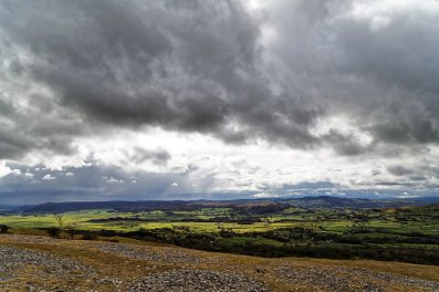 Lyth Valley from Scout Scar