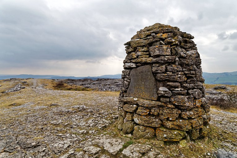 Summit cairn on Whitbarrow