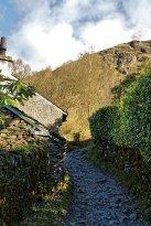 Start of climb up Helm Crag