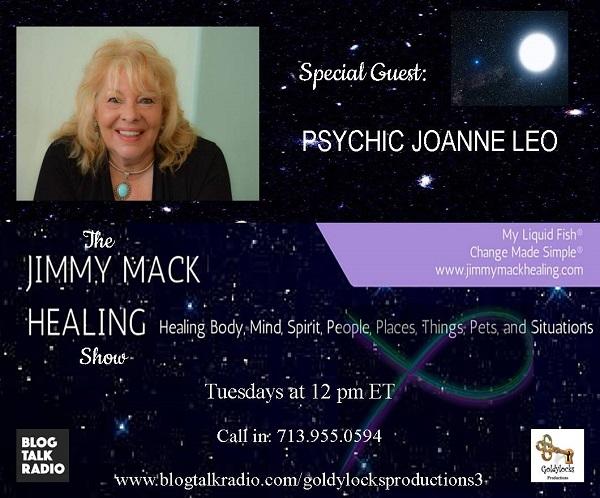 Psychic Joanne Leo 10Oct2017 Show Banner