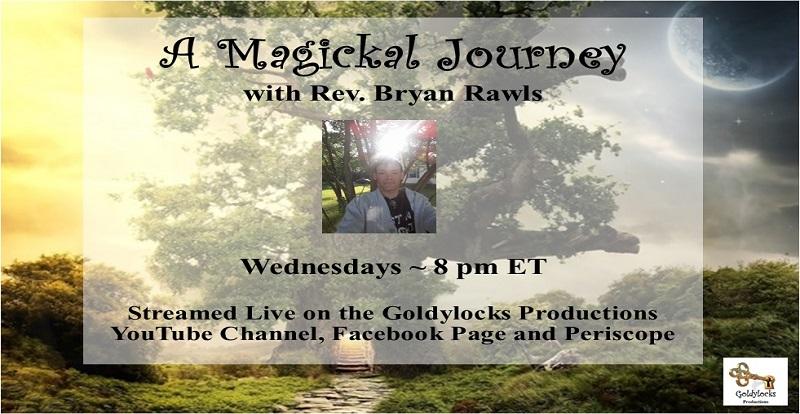 Rev Bryan Rawls Show Banner 8pm