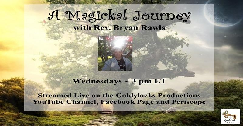 Rev Bryan Rawls Show Banner