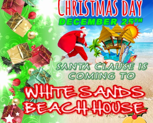 Santa Clause Is Coming to White Sands Christmas Day
