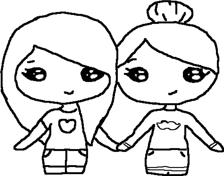 1000 x 760 1 printable bff coloring pages for girls
