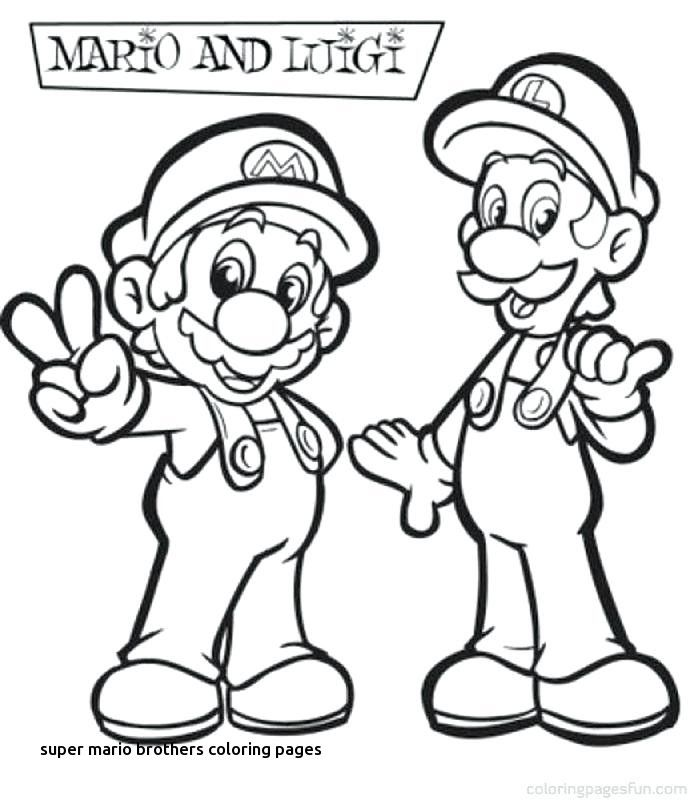 Mario Bros Coloring Pages Ideas - Whitesbelfast