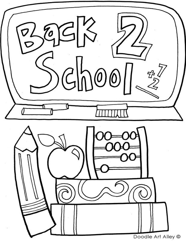 1st day printables school coloring pages kindergarten